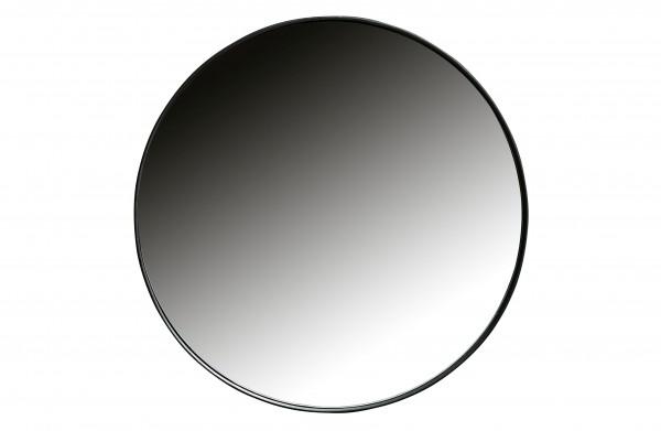 woood Doutzen Runder Spiegel Metall Schwarz Ø50cm