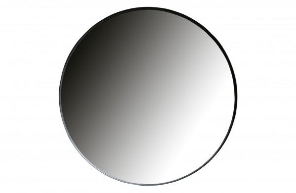 woood Doutzen Runder Spiegel Metall Schwarz Ø115cm