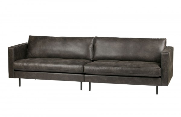 BePureHome Sofa Rodeo 3-Sitzer Classic schwarz