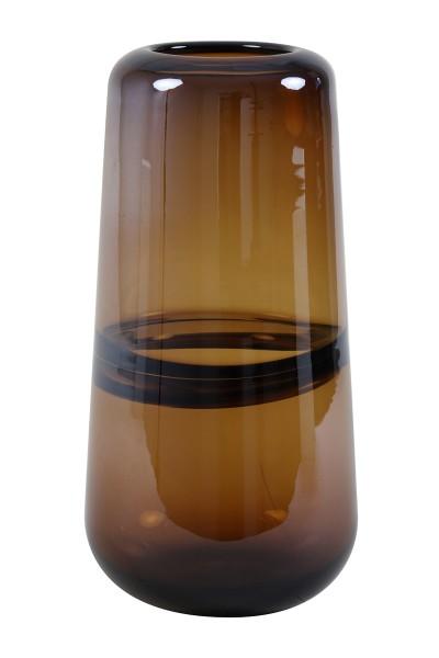 Light&Living Vase ERMIDA LUSTER Glas Braun 15x31cm