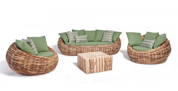 Apple Bee Cocoon Lounge Set ohne Tisch