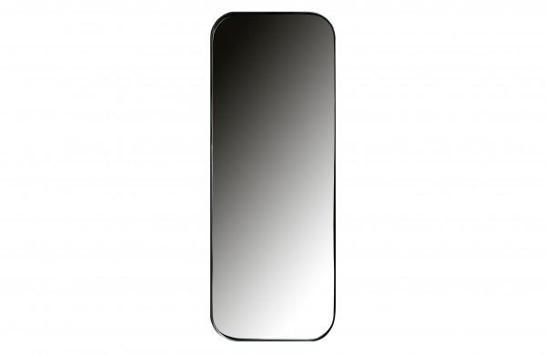 woood Doutzen Spiegel Metall Schwarz 110x40cm