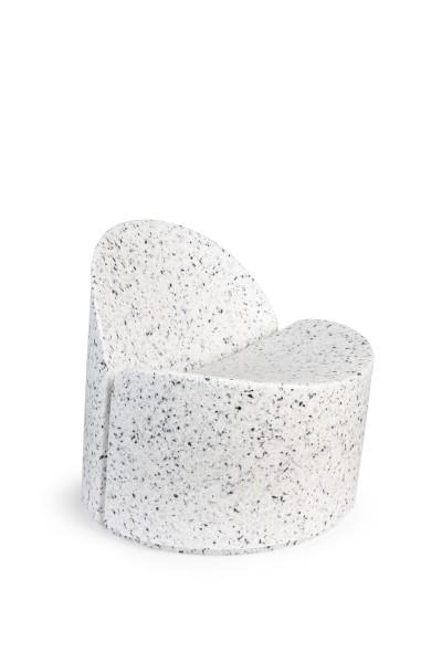 banne Lounge Chair Bloom White-Terrazzo