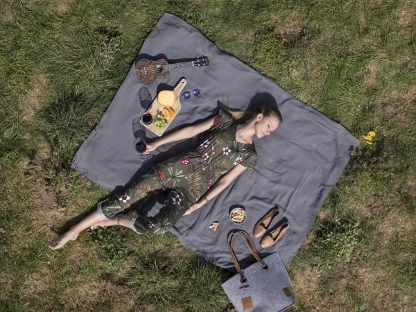 Knit Factory Pareo/Strandtuch Liv NEU 21
