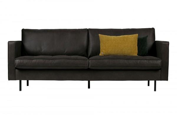 BePureHome 2,5-Sitzer Sofa Rodeo Classic schwarz