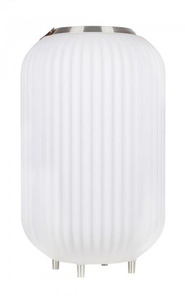 NIKKI.AMSTERDAM The.Lampion L Weinkühler 72cm mit Licht und Bluetooth-Lautsprecher
