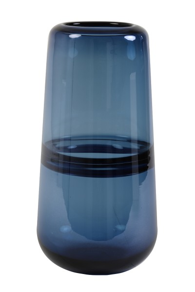 Light&Living Vase ERMIDA LUSTER Glas Blau 15x31cm