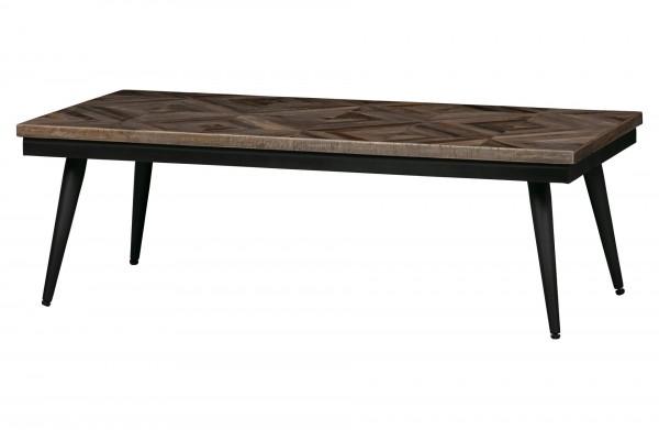 BePureHome Couchtisch Rhombic 120x60cm Holz/Metall