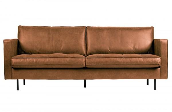 BePureHome 2,5-Sitzer Sofa Rodeo Classic cognac